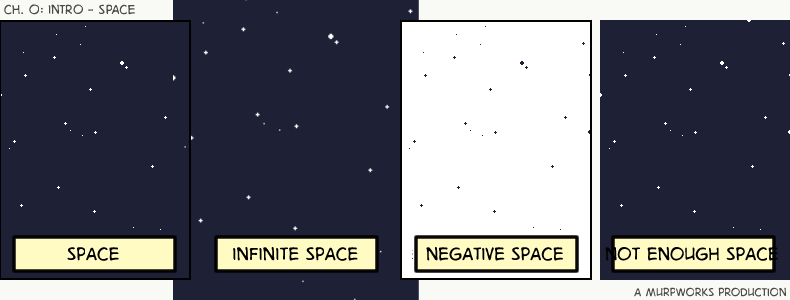 Space webcomic