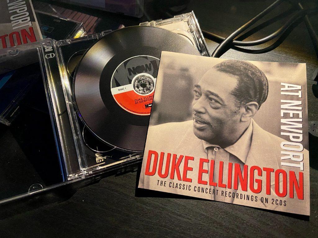 murpworks - musicfan6160 - Chairman of the Board - Duke Ellington at Newport CD cover image