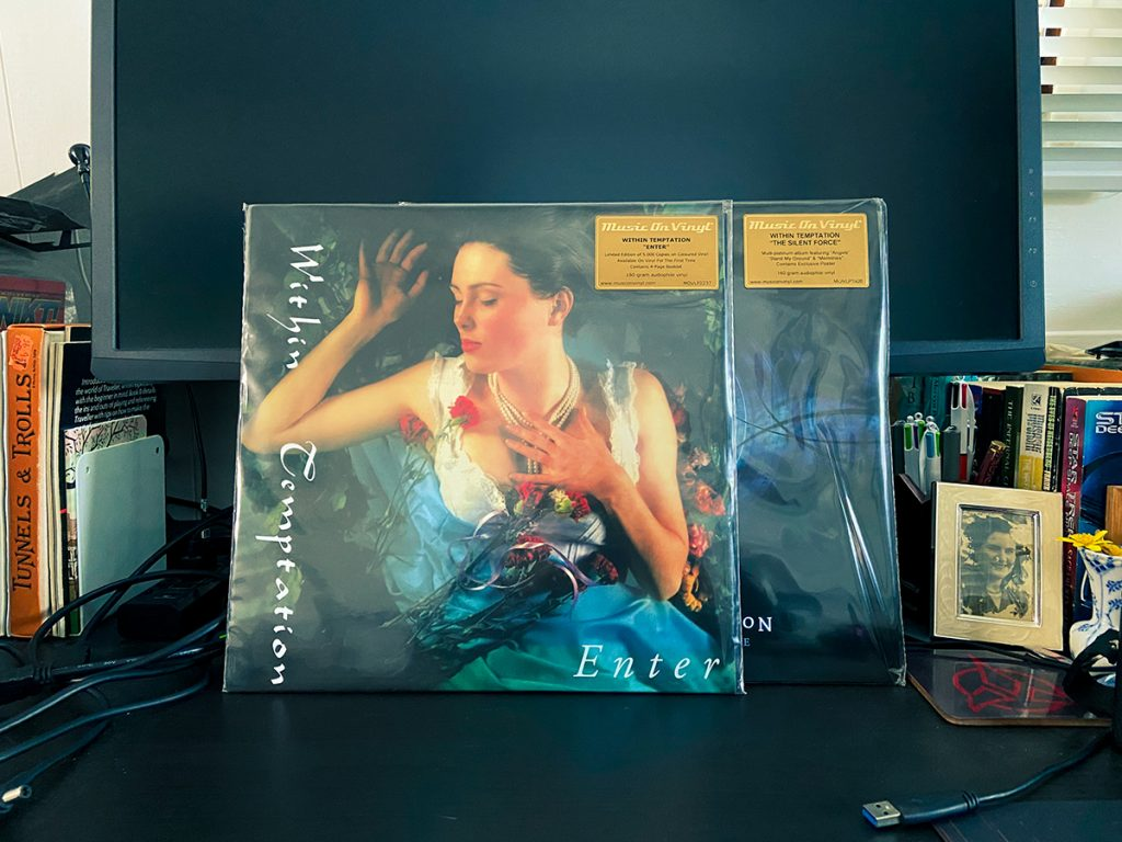 murpworks - musicfan6160 - I Can Resist Everything Except Within Temptation - vinyl image