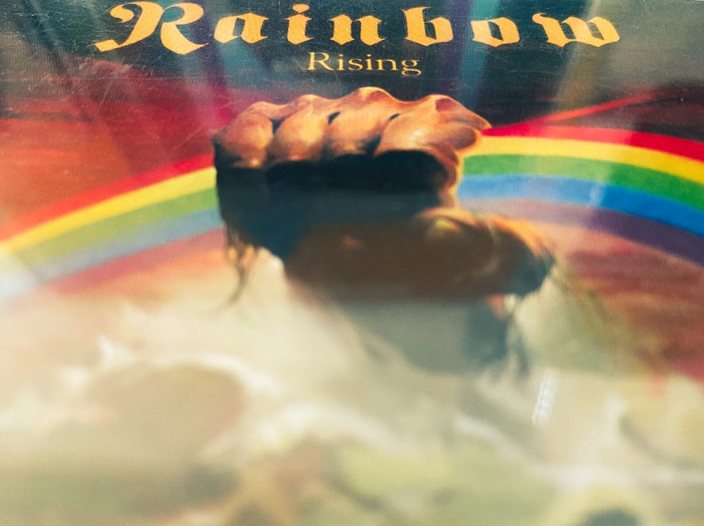 murpworks - musicfan6160 - - There's a Rainbow Rising - Rainbow CD image