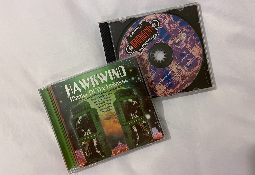 murpworks - musicfan6260 - Listening To Hawkwind - Hawkwind CD image
