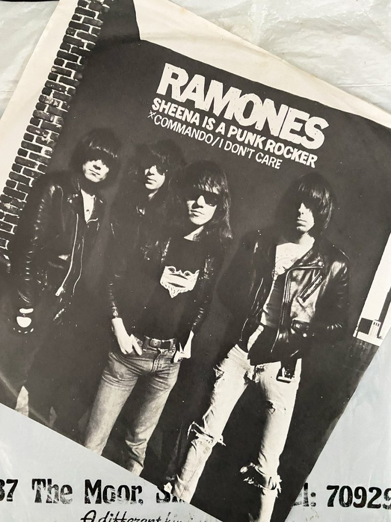 murpworks - musicfan6160 - A Virgin Plastic Bag - Ramones - Sheena front cover image