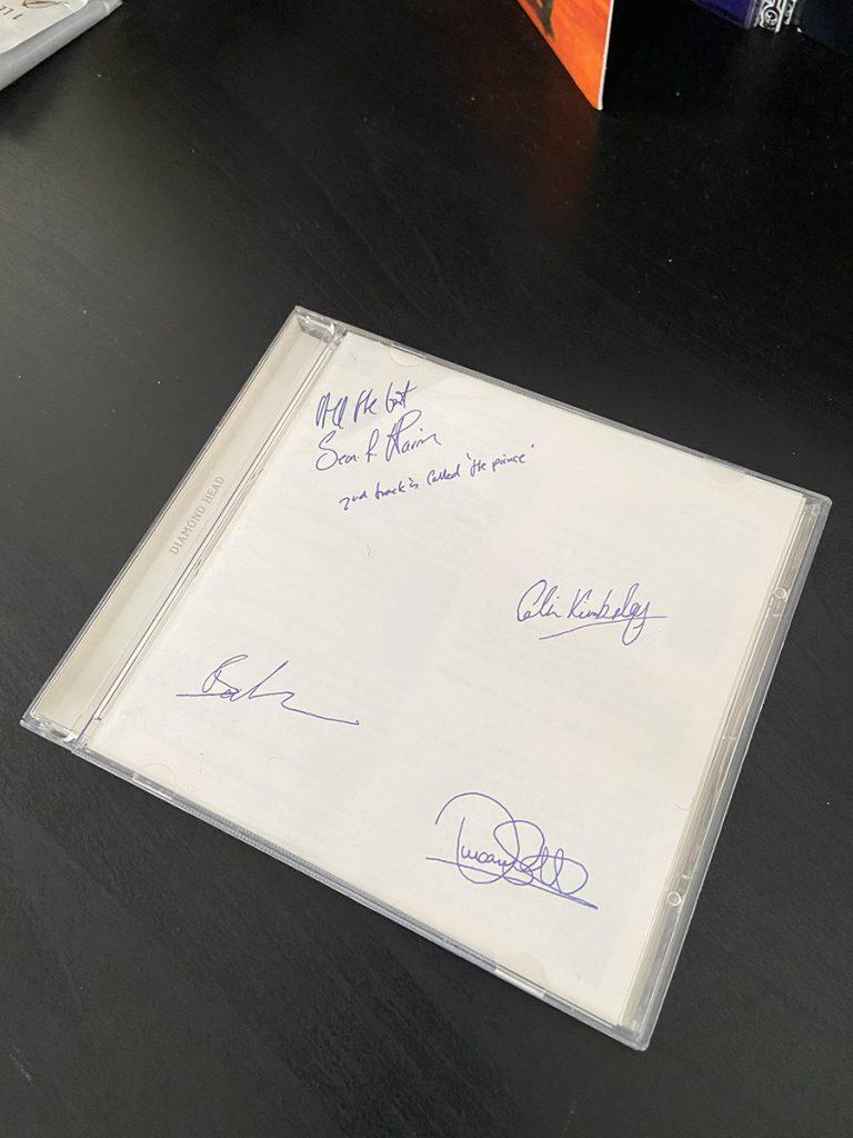 murpworks - musicfan6160 - White - The White Album - The White Album - Diamond Head CD cover image