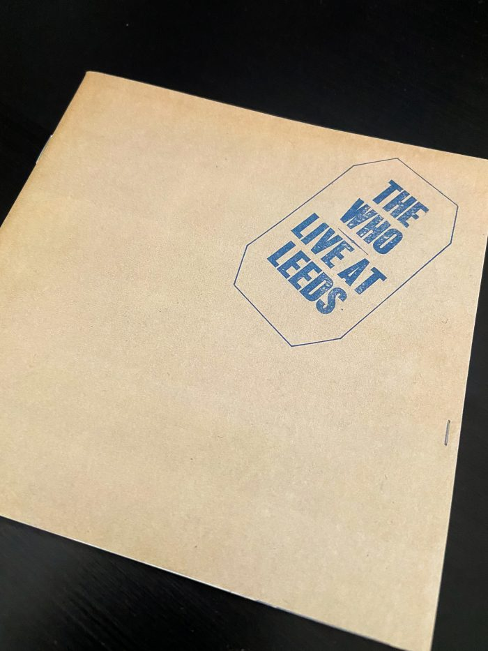 murpworks - musicfan6160 - Who, What, Where, When and How? - The Who Live At Leeds album cover I image