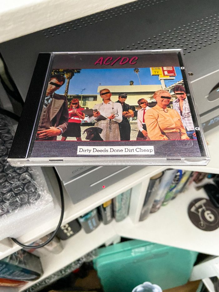 murpworks - musicfan6160 - Done Dirt Cheap - AC/DC Deeds CD I album image