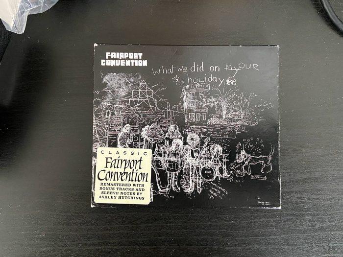 murpworks - musicfan6160 - Fotheringhay - Fairport Convention CD album cover image