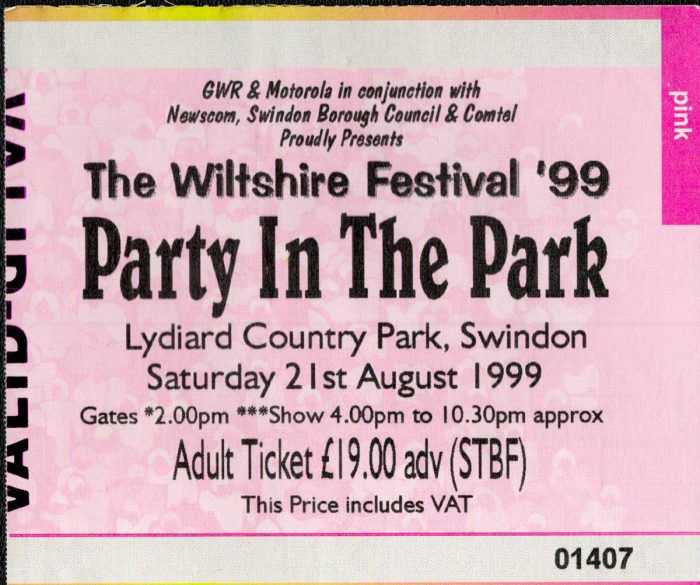 murpworks - musicfan6160 - A Condensed History Pt. 5 - Party In The Park ticket image