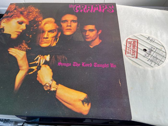 murpworks - musicfan6160 - The band that embodied Rock & Roll - The Cramps vinyl image