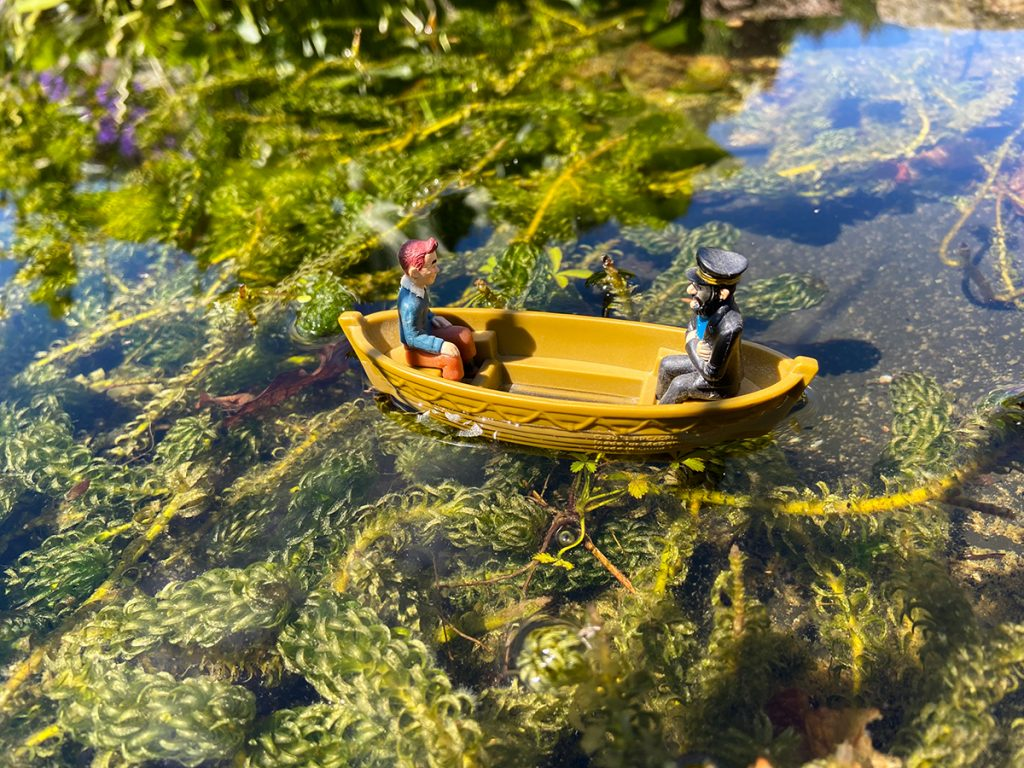 murpworks - The Tales of Silverdale - Adrift... - Boat on a Pond image