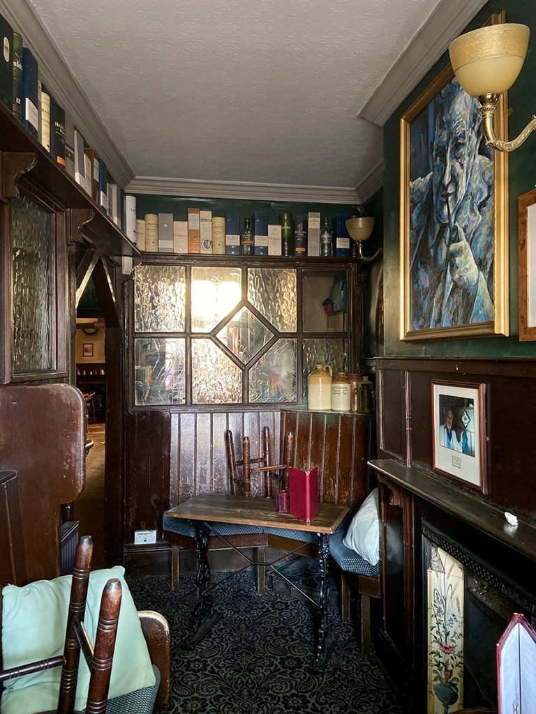 murpworks - The Tales of Silverdale - In Honour of JRR Tolkien - The Eagle and Child pub interior image