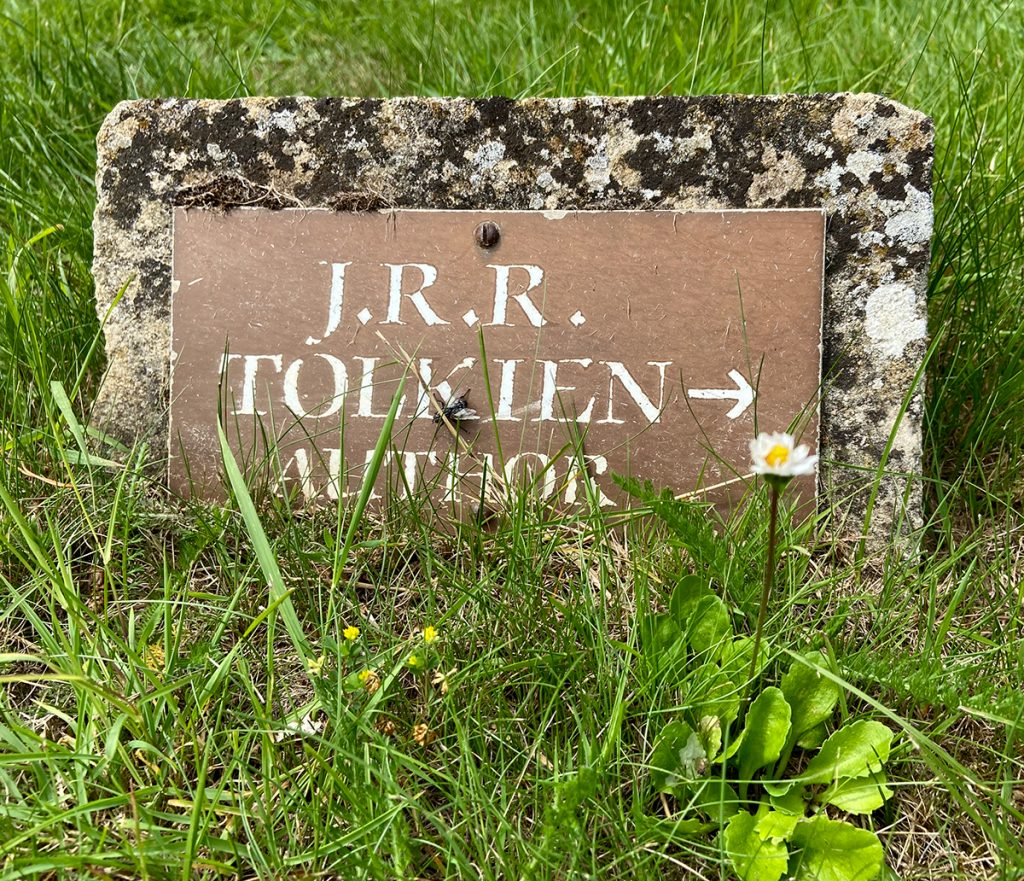 murpworks - The Tales of Silverdale - In Honour of JRR Tolkien - Tolkien sign image