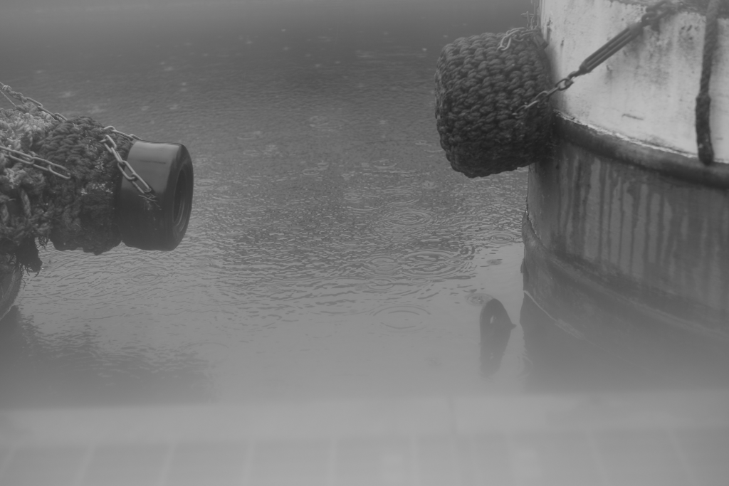 murpworks - The Tales of Silverdale - Rain In-between Two Boats image
