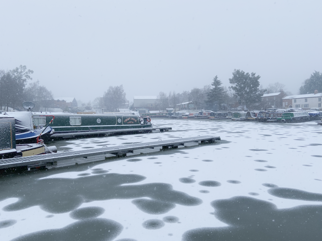 murpworks - The Tales of Silverdale - View of Marina in snow image