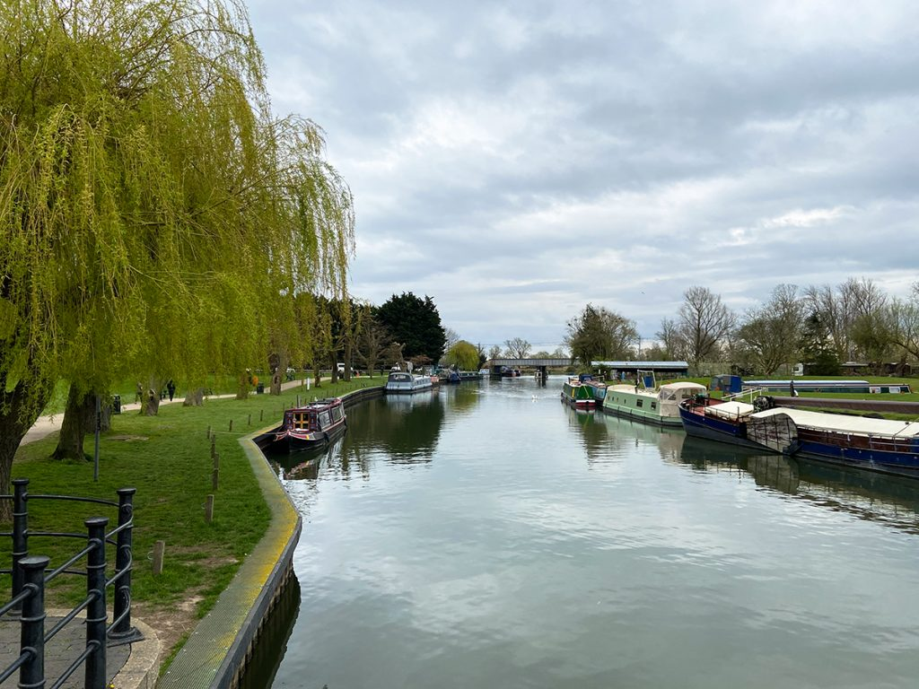 murpworks - The Tales of Silverdale - A view down the river Great Ouse at Ely image