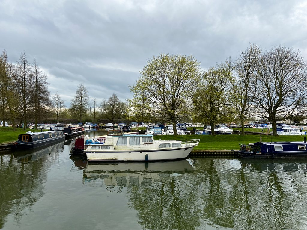 murpworks - The Tales of Silverdale - Ely Marina entrance on the river Great Ouse at Ely image